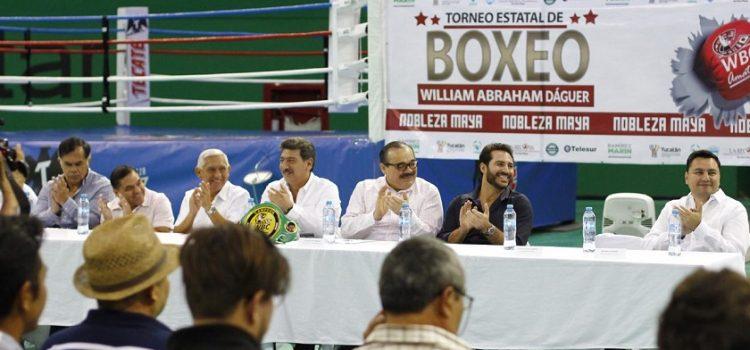 Fomentar nuevo semillero de campeones en Yucatán, objetivo de Ramírez Marín