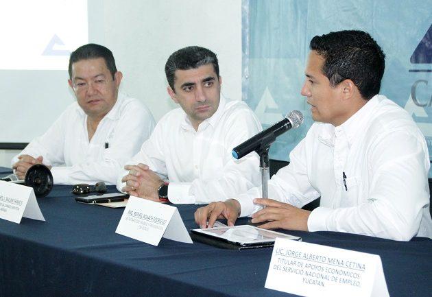 Canaco Mérida y STPS presentan programa de capacitación
