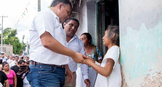 El combate a la pobreza trae resultados históricos a Yucatán
