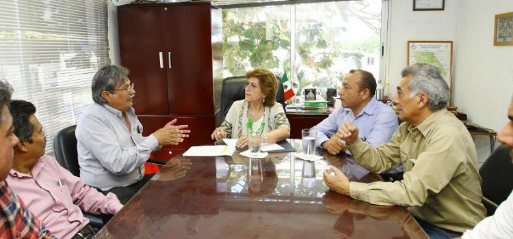 María Fritz Sierra visita instalaciones de Servicios Públicos Municipales