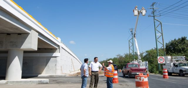 Obras viales, mejoran la calidad de vida en Yucatán