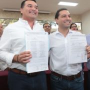 Renán Barrera se registra ante el órgano electoral como candidato a la alcaldía de Mérida