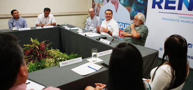 Afirma Renán Barrera impulsar una agenda conjuntaen temas metropolitanos