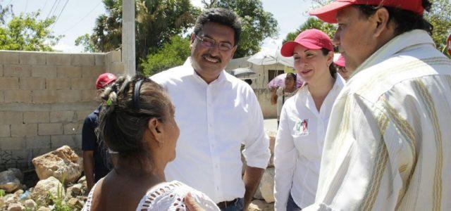 Luchar por el sur de Yucatán, meta de Juan José CanulPérez