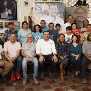 Continuaremos apostando fuerte por la cultura, afirma Renán Barrera