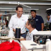 Mauricio Vila apuesta por las empresas yucatecas, para una economía próspera