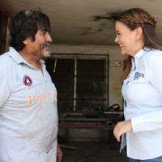 Cecilia Patrón reitera su vocación de servicio con los meridanos