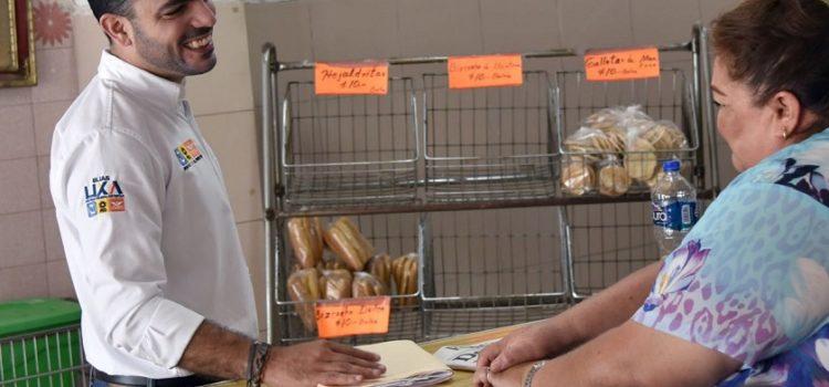 Mejorar condiciones para comercios, propósito de Elías Lixa