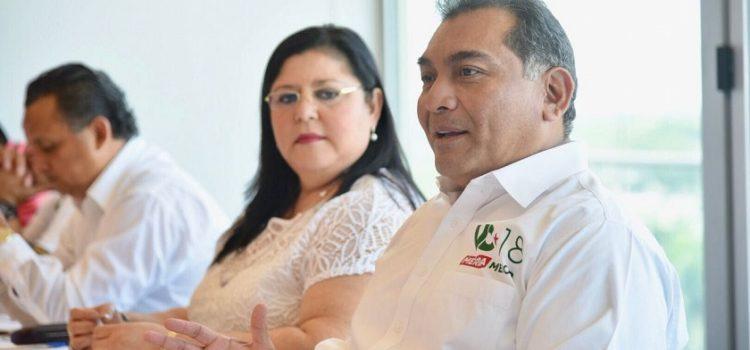 Plantea Víctor Caballeroconsolidar a Mérida como polo de inversión y desarrollo