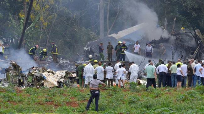 Se estrella avión en Cuba