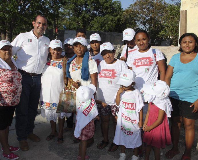 Familias del Sur quieren contribuir a transformar Mérida: Felipe Cervera