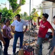 Desarrollo de todo el municipio de Izamal, prioridad para Fermín Sosa