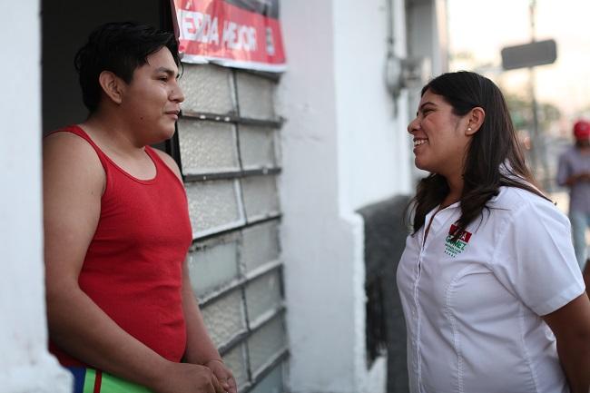 Una de mis principales propuestas es el apoyo a emprendedores:  Vida Gómez