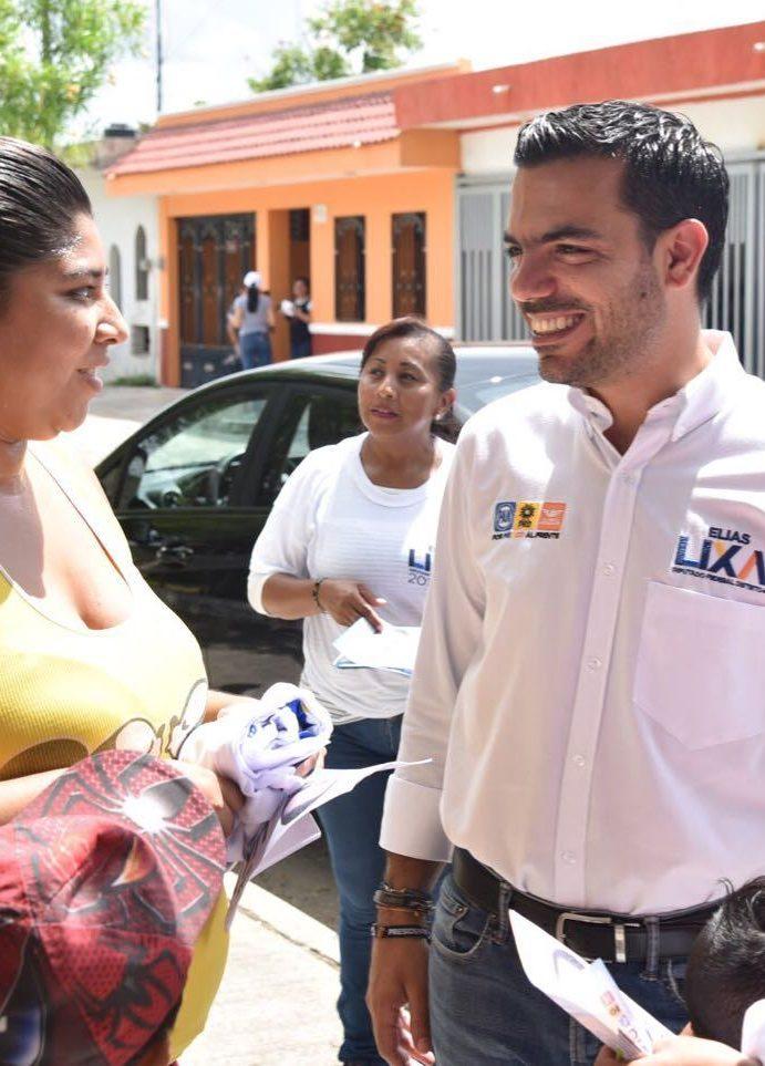 Velará Elías Lixa por mejores instalaciones en las escuelas