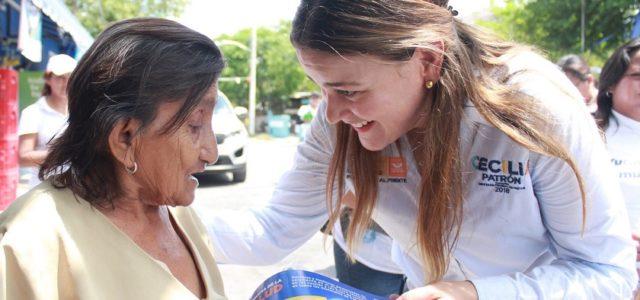Cecilia Patrón apuesta y apoya el plan de salud de Vila