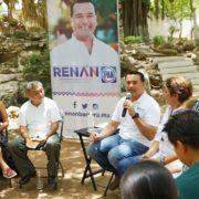 Renán Barrera impulsará acciones para preservar la cultura maya