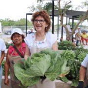 Rinden buenos frutos los huertos urbanos del Ayuntamiento