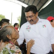 Habitantes de Mayapán refrendan su apoyo a Canul Pérez
