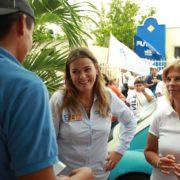 Votar por Cecilia Patrón es una buena inversión, dicen en Juan Pablo II