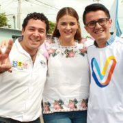 Vecinos del fraccionamiento Libertad respaldan a Cecilia Patrón