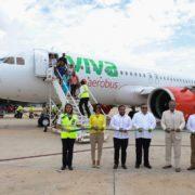 Inauguran ruta Mérida-Tuxtla Gutiérrez de la aerolínea Viva Aerobús