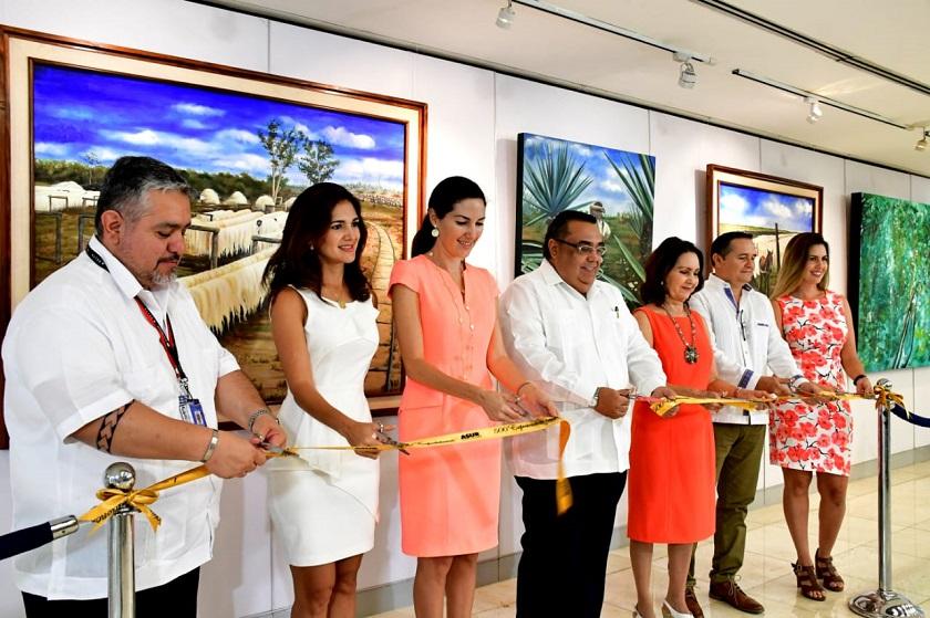 Photo of Inician los festejos de 500 exposiciones en la Galería del Aeropuerto de Mérida