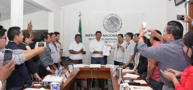 Canul Pérez triunfa como diputado federal por el V distrito