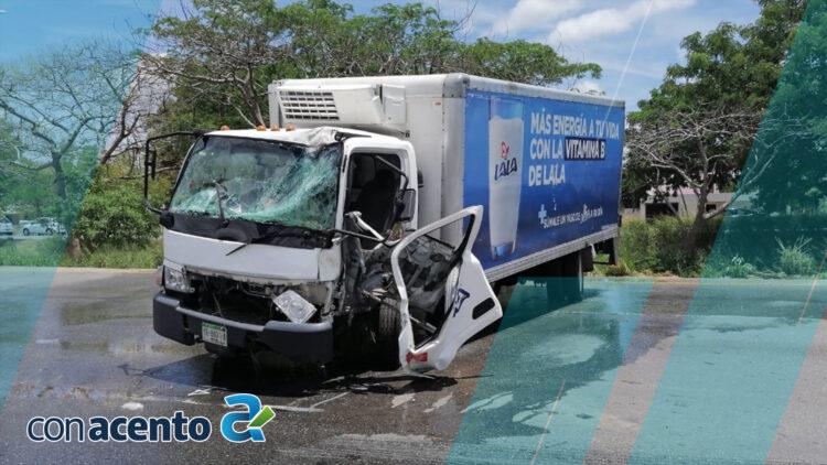 Photo of Quedan prensados tras fuerte accidente