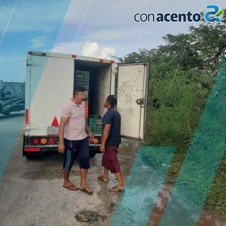 Photo of Los sorprenden arrojando pescado podrido en la vía pública