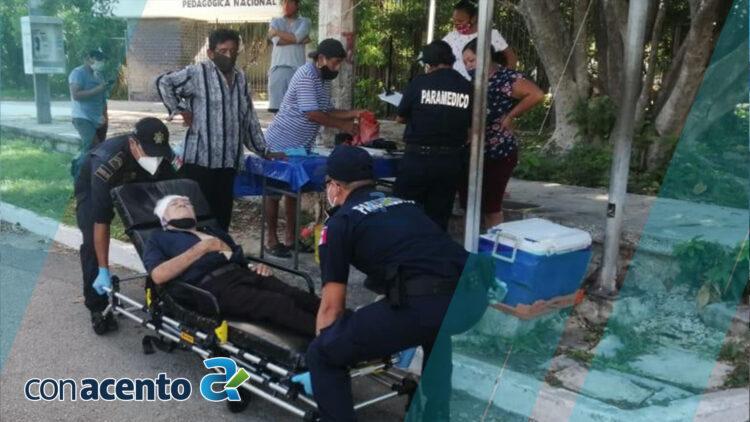 Photo of Abuelito cruza la calle sin precaución y lo atropellan