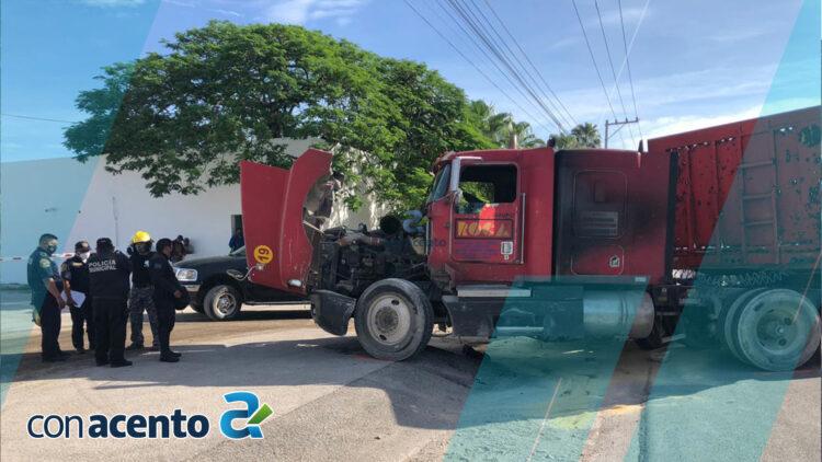 Photo of Herido y caos tras fuerte encontronazo en la Mérida-Umán