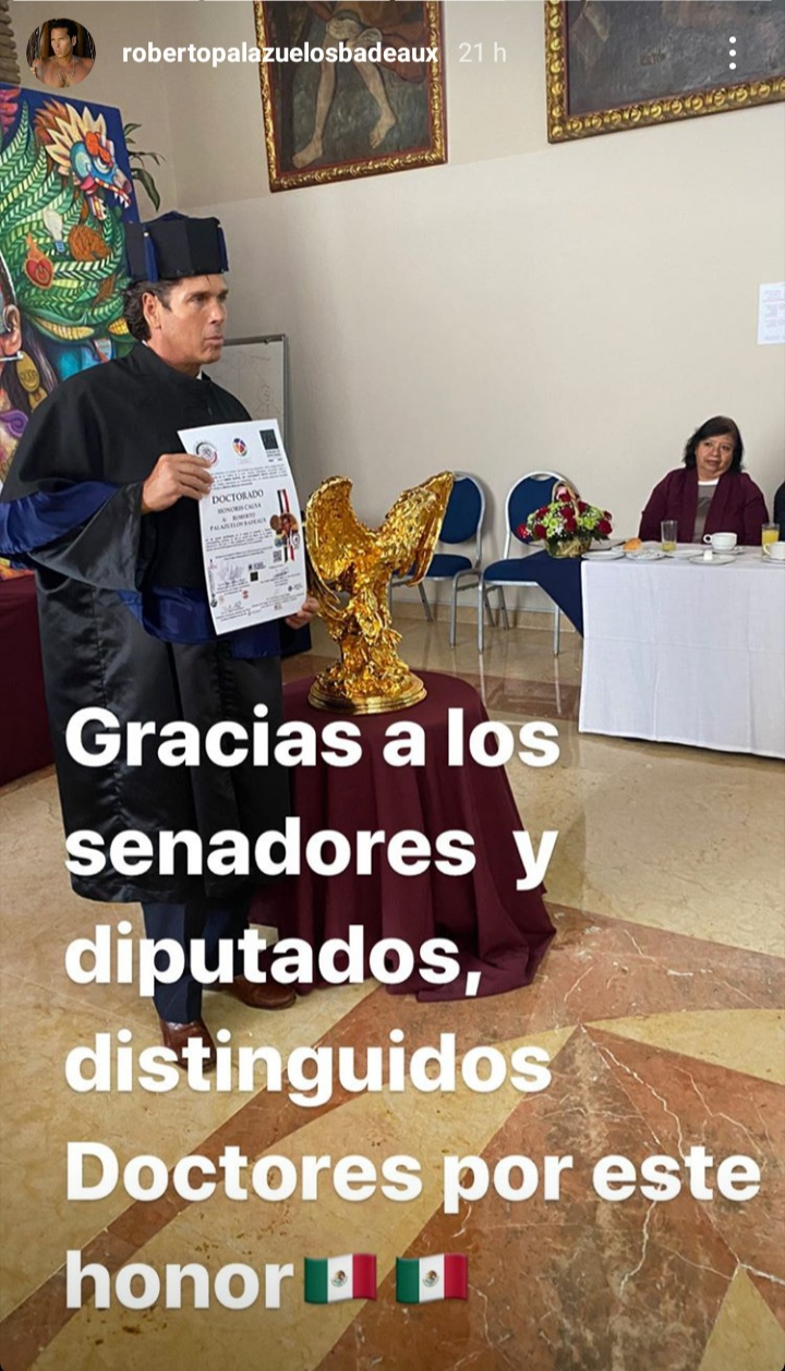 Photo of El Diamante Negro recibe título Doctor Honoris Causa