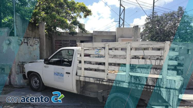 Photo of Chofer de vehículo oficial se estampa en predio
