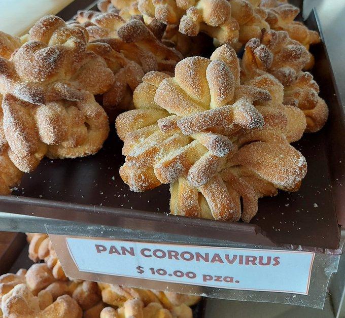 Photo of El pan «Coronavirus» la nueva creación