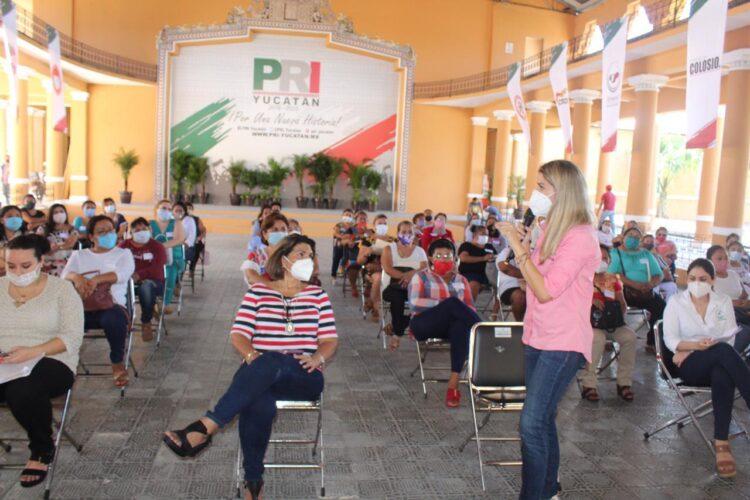 Photo of Linett Escoffié impulsa el liderazgo de mujeres en el PRI