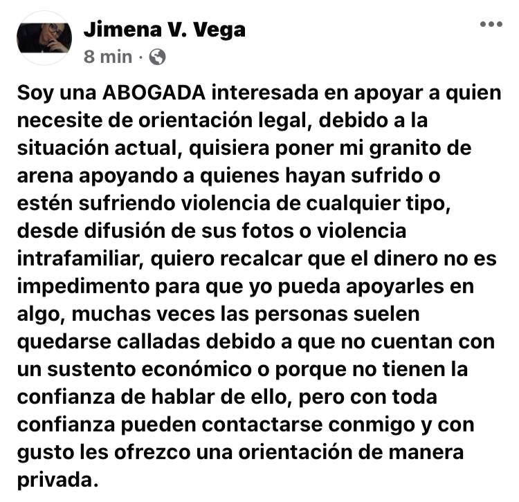 Photo of Abogada asesora gratuitamente a mujeres violentadas