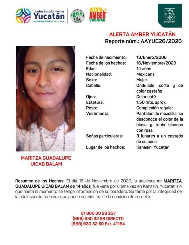 Photo of Activan Alerta Amber por Maritza Guadalupe