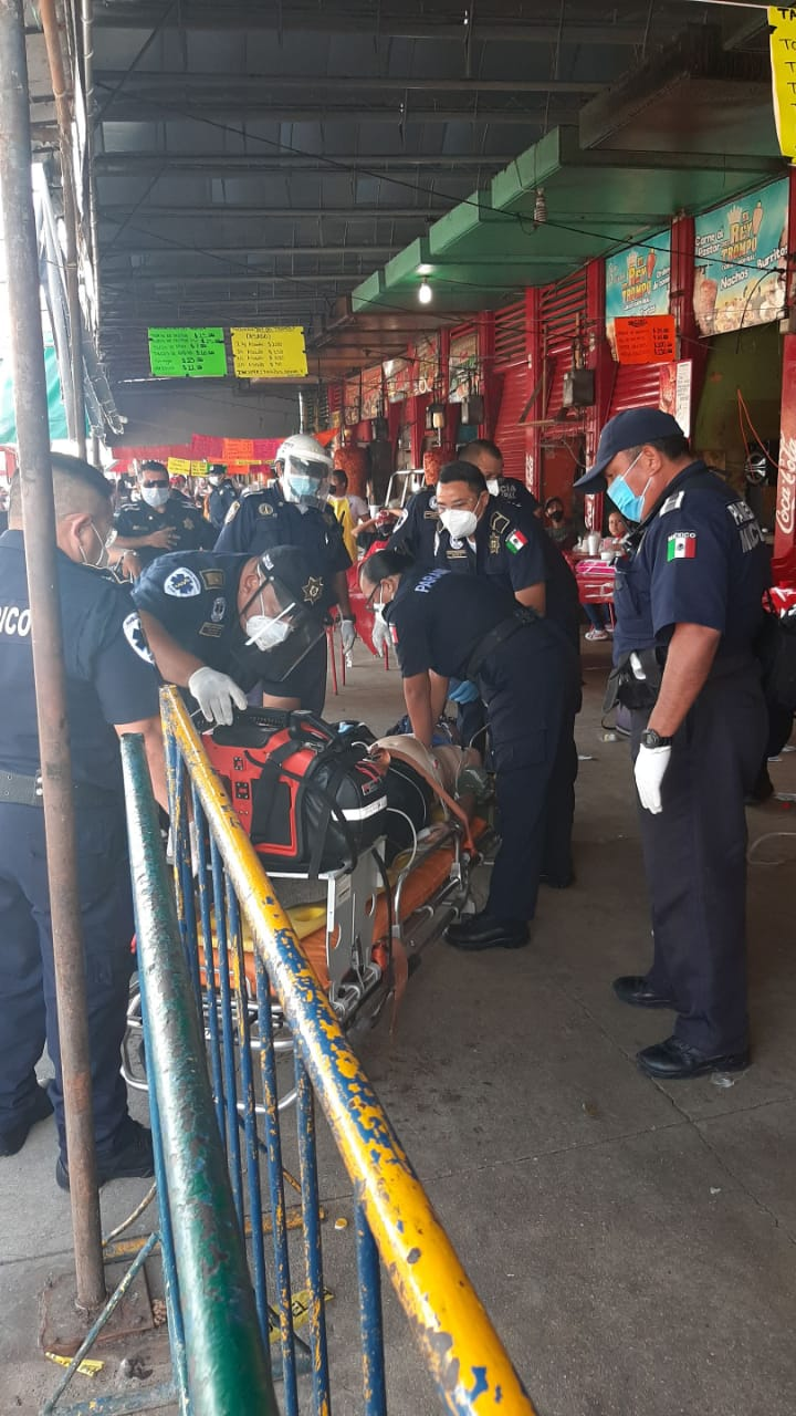 Photo of Paramédicos de la Policía Municipal de Mérida reviven a abuelito que sufrió un infarto