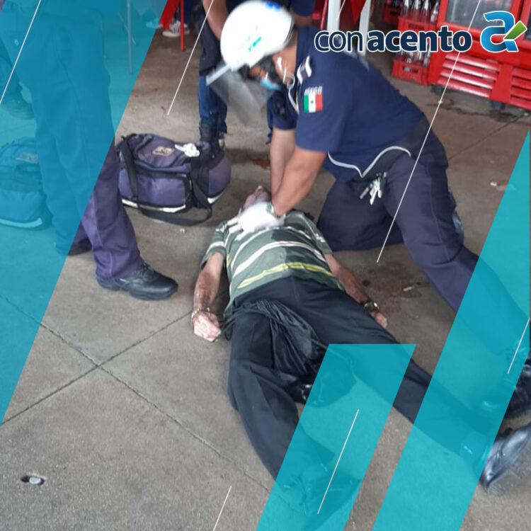 Photo of Hombre tirado inconsciente es atendido por la Policía Municipal en el Centro de Mérida