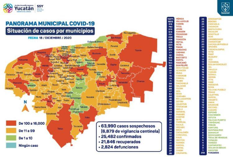 Photo of Aumentan considerablemente los contagios y los hospitalizados por coronavirus en Yucatán