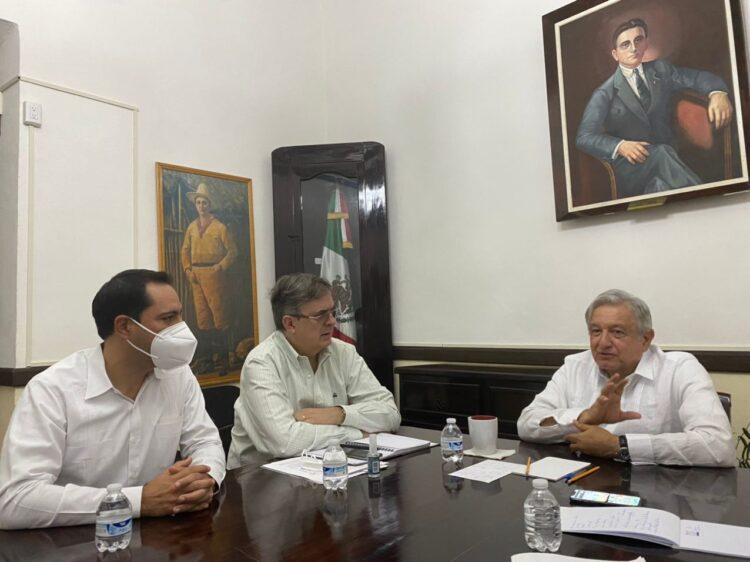 Photo of Mauricio Vila atestigua el primer saludo oficial vía telefónica entre el Presidente de México y el Presidente electo de los Estados Unidos