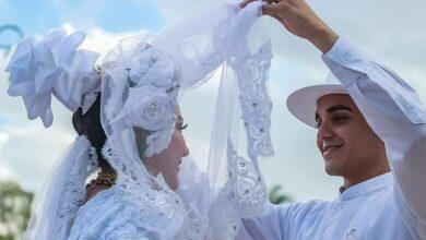 Photo of Hermosas fotos de una boda jaranera