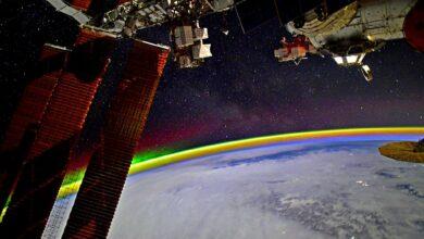 Photo of Astronauta muestra cómo se ve un arcoíris desde el espacio con espectacular foto
