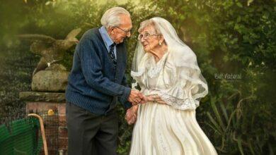 Photo of Abuelitos realizan tierna sesión de fotos para festejar sus 72 años de casados