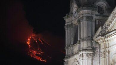 Photo of La espectacular erupción del volcán Etna