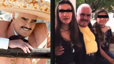 Photo of «Viejo corriente»; exhiben a Vicente Fernández por «MANOSEAR» a fan que le pidió foto