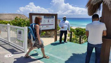Photo of Cancún restringe horarios de acceso a sus playas