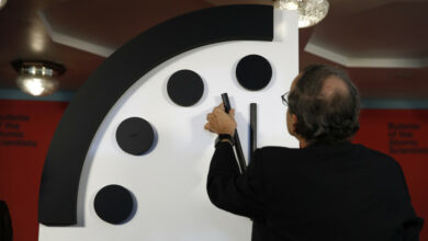 "Photo of ""Reloj del Juicio Final"" se queda a segundos del ""Apocalipsis"""