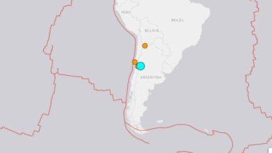 Photo of Sismo de 6.4 grados entre Argentina y Chile