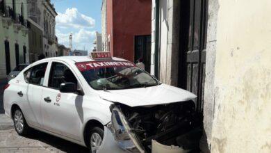 Photo of Chocan en el Centro, conductores resultan con heridas leves